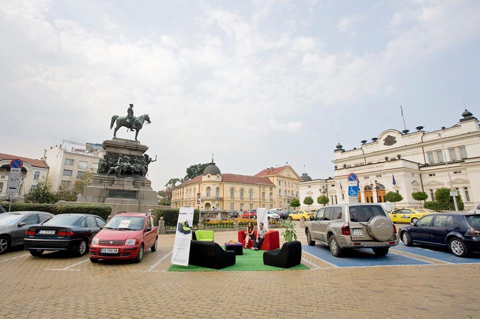 Park(ing) Day – София 2018