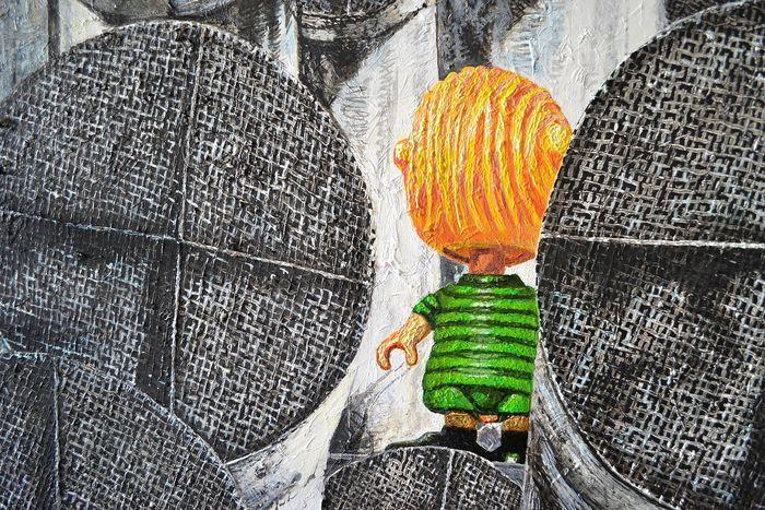 Картини на книги: изложба-живопис на Антон Терзиев