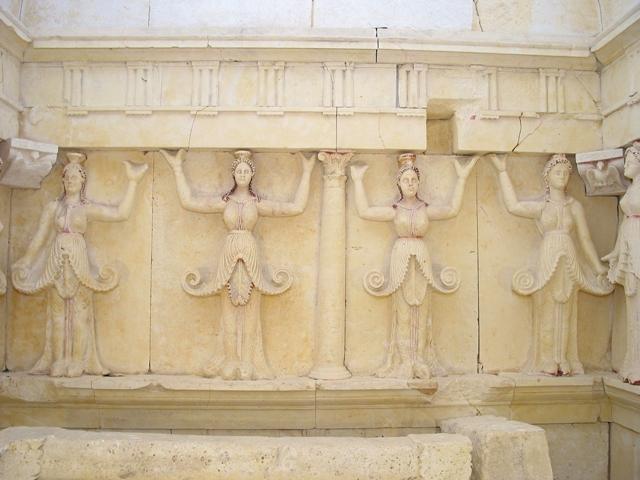 Реставрация на тракийската гробница при с. Свещари